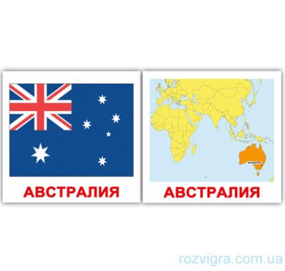 """Карточки Домана """"Флаги/Страны/Столицы"""" (Русские)"""