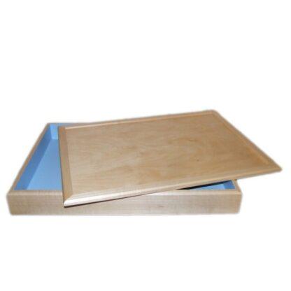 Юнгианская песочница с крышкой для мокрого и сухого песка