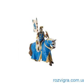 "Фигурка Рыцарь на коне синий ""Bullyland"""