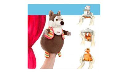 Мягкая игрушка на руку Волк/Овца