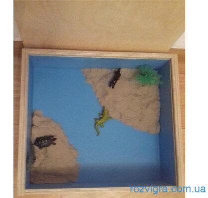 Песочница малая с крышкой