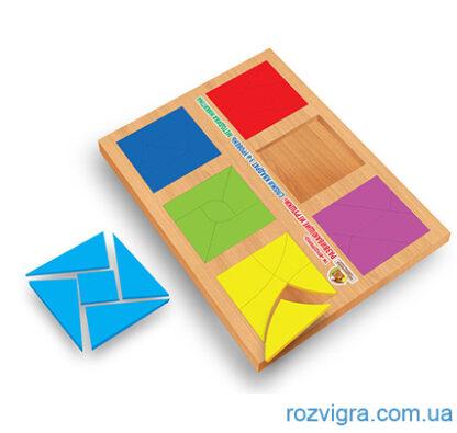 Сложи квадрат 3 уровень, 12 квадратов по методике Никитина