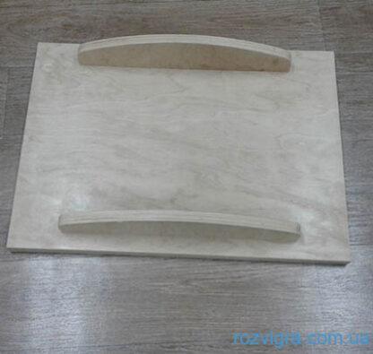 Доска балансировочная с ковролином (продольные ножки без поворота)