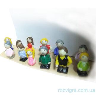 Фигурки для расстановок 12 штук