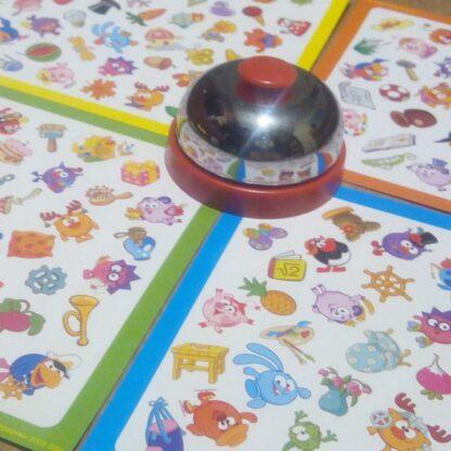 Настольная игра со звонком «Глаз-алмаз. Смешарики»