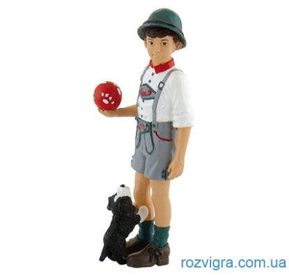 Фигурка Bullyland 62704 Мальчик с фермы