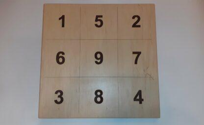 Доска мишень обратной связи с цифрами