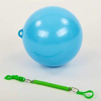Мяч резиновый на шнуре