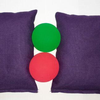 мешочки сенсорные и мячи скакуны