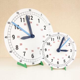 часы для обучения времени НУШ