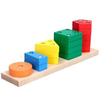Пирамидка геометрическая «Счет»