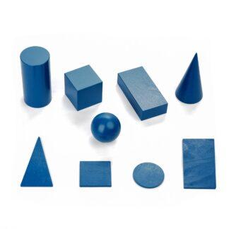 Набор геометрических тел и фигур 60мм