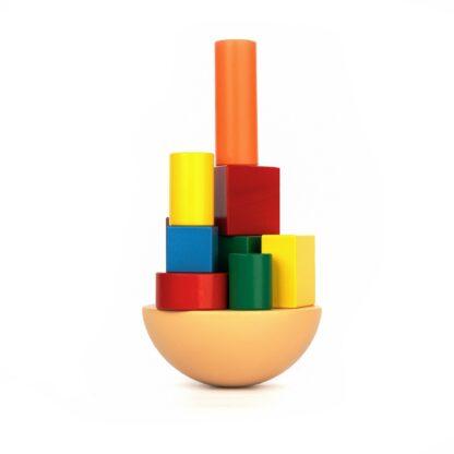 Игра балансир «Кривая башня»