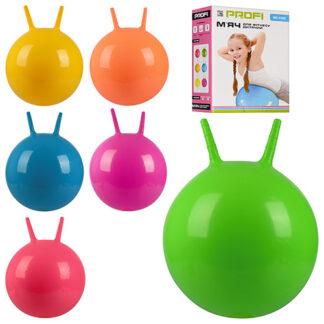 Мяч-прыгун детский надувной с рожками 45см